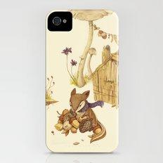 Harvey the Greedy Chipmunk iPhone (4, 4s) Slim Case