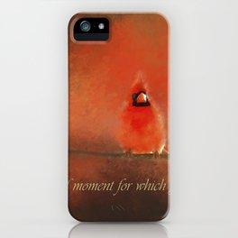 Winter Love2 iPhone Case