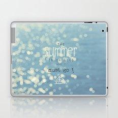 SUMMER IS CALLING Laptop & iPad Skin