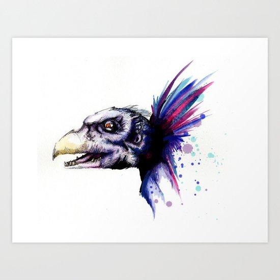 Skeksis Art Print