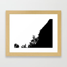 Deforestation Framed Art Print