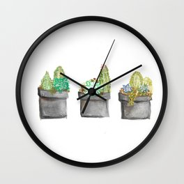 Planters for life Wall Clock