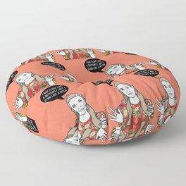 Float Like A Butterfly Floor Pillow
