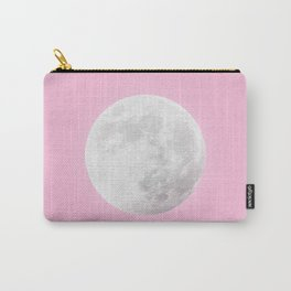 WHITE MOON + PINK SKY Carry-All Pouch