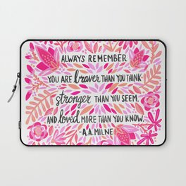 Always Remember – Pink Ombré Palette Laptop Sleeve