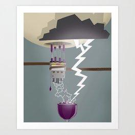 Wine Maker Art Print