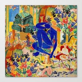 Matisse el Henri Canvas Print