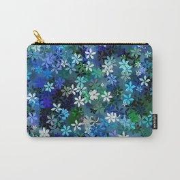 Bluebonnet Flower Garden Carry-All Pouch