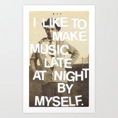 Make Music Art Print