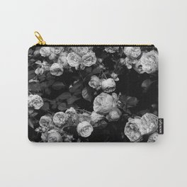Roses are black and white Carry-All Pouch