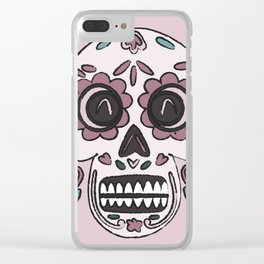 Skull Skill Clear iPhone Case