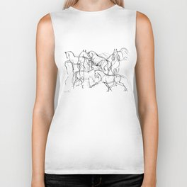Horses (Movement) Biker Tank