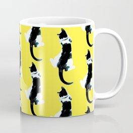 Benji the Cat 1 - Yellow Coffee Mug