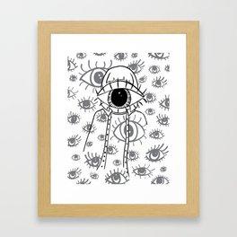 Eye Am Eye Am Eye Am Framed Art Print