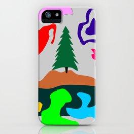 Grayed Limbo iPhone Case