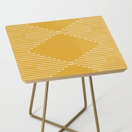 Geo / Yellow Side Table
