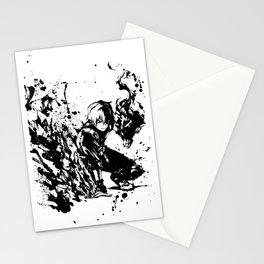 Todoroki Shoto Ink Splatter Stationery Cards
