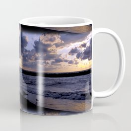 Seagull at lakeshore Coffee Mug