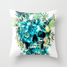 Momento Mori IV Throw Pillow