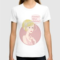 gatsby T-shirts featuring Gatsby / Daisy Buchanan by AnaMF