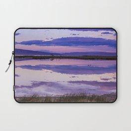 Pink Lake Laptop Sleeve