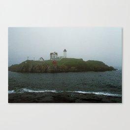 Lighthouse - Cape Neddick, Maine 2004 Canvas Print