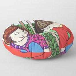 New Friends Floor Pillow