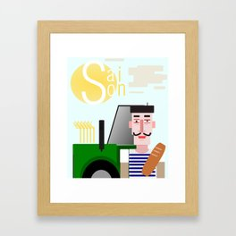Saison Framed Art Print