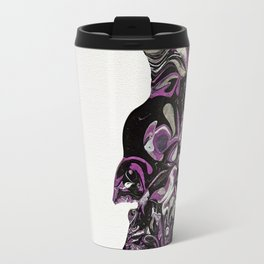 Purple Overpour - Number 1 Travel Mug