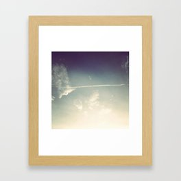 sky wash Framed Art Print