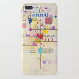 Wassily Kandinsky - Graceful ascent iPhone Case