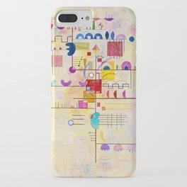 Wassily Kandinsky - Graceful ascent iPhone Case
