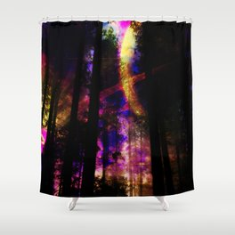 close your eyes and dream with me Shower Curtain