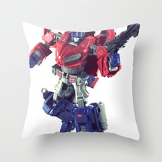 The Last Prime Throw Pillow