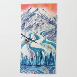 Regal Air Alaska Beach Towel