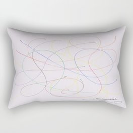 Informe del fósforo Rectangular Pillow