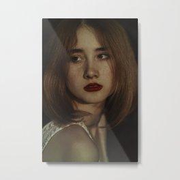 Freckle Metal Print