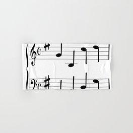 Music Chord Hand & Bath Towel