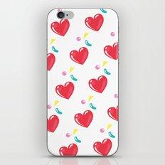 heart hearts iPhone & iPod Skin