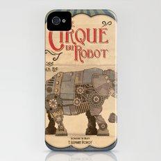 Robot Circus - Elephant Slim Case iPhone (4, 4s)