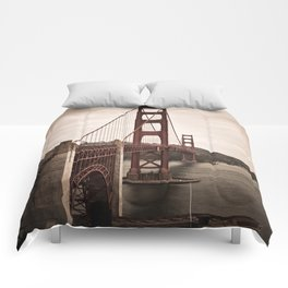 San Francisco, Golden Gate Bridge Comforters