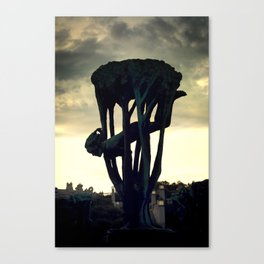 Vigelandpark Canvas Print