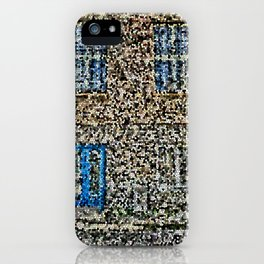 crystalized facade iPhone Case