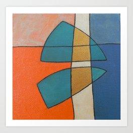 The Abstract Daily Art Print #6 Art Print