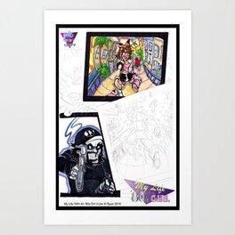 Take me back to the 80s! Art Print