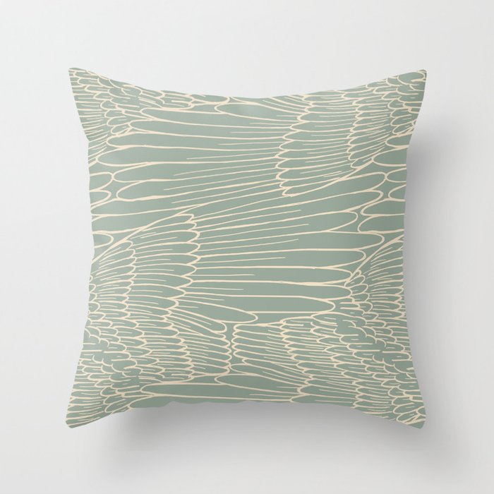 Wings of Spirit Throw Pillow
