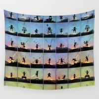 superhero Wall Tapestries featuring Superhero Kids by Andy Fairhurst Art