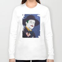 jack nicholson Long Sleeve T-shirts featuring Joker Nicholson by FSDisseny
