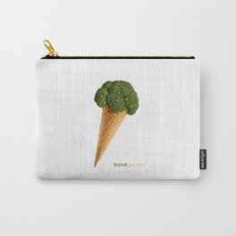 broccoli ice cream Carry-All Pouch