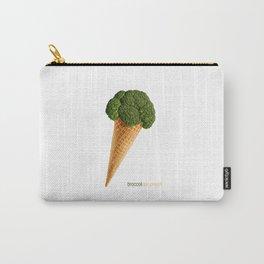 broccoli ice cream Carry-All Pouch